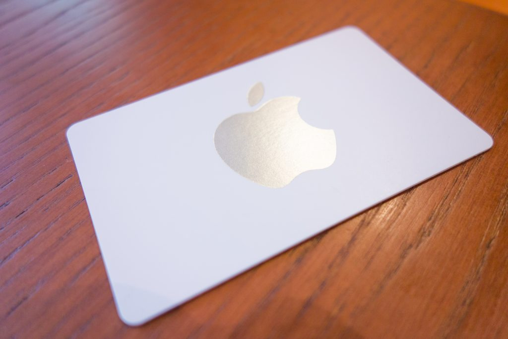 Applestore card
