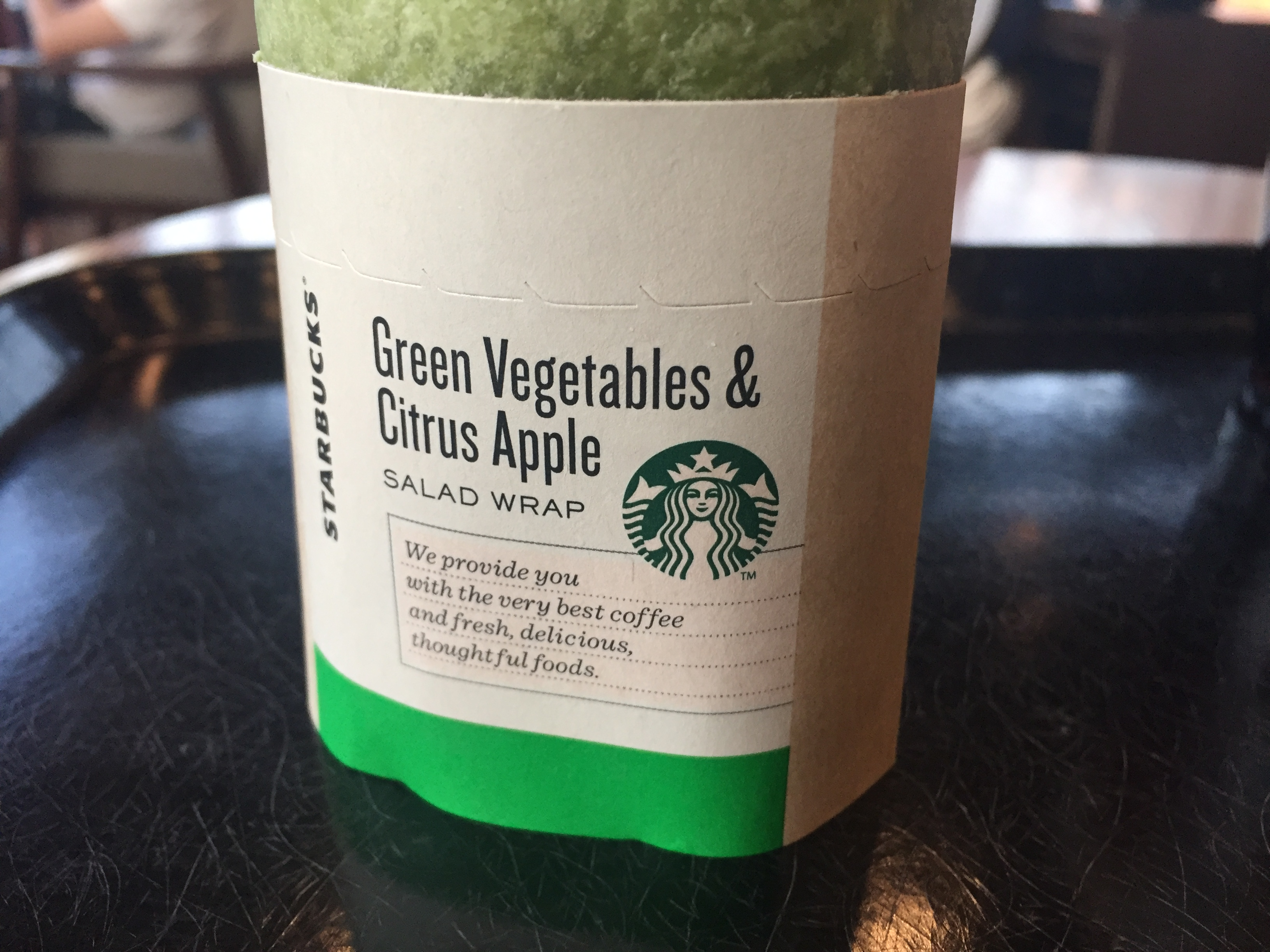 サラダラップ グリーンベジタブル&シトラスアップル