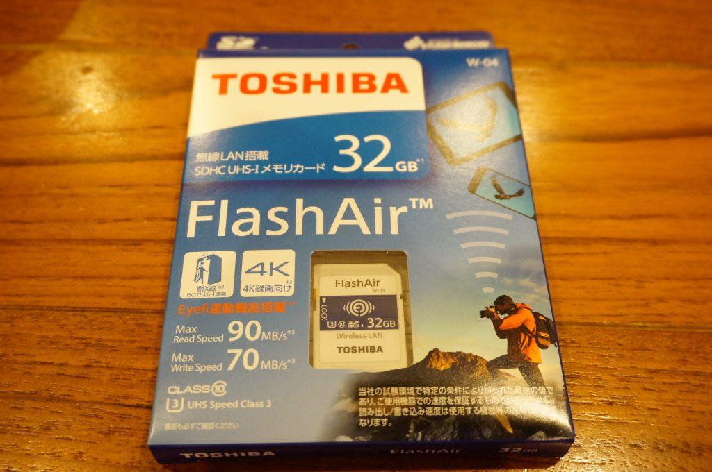 東芝 Flashair W-04
