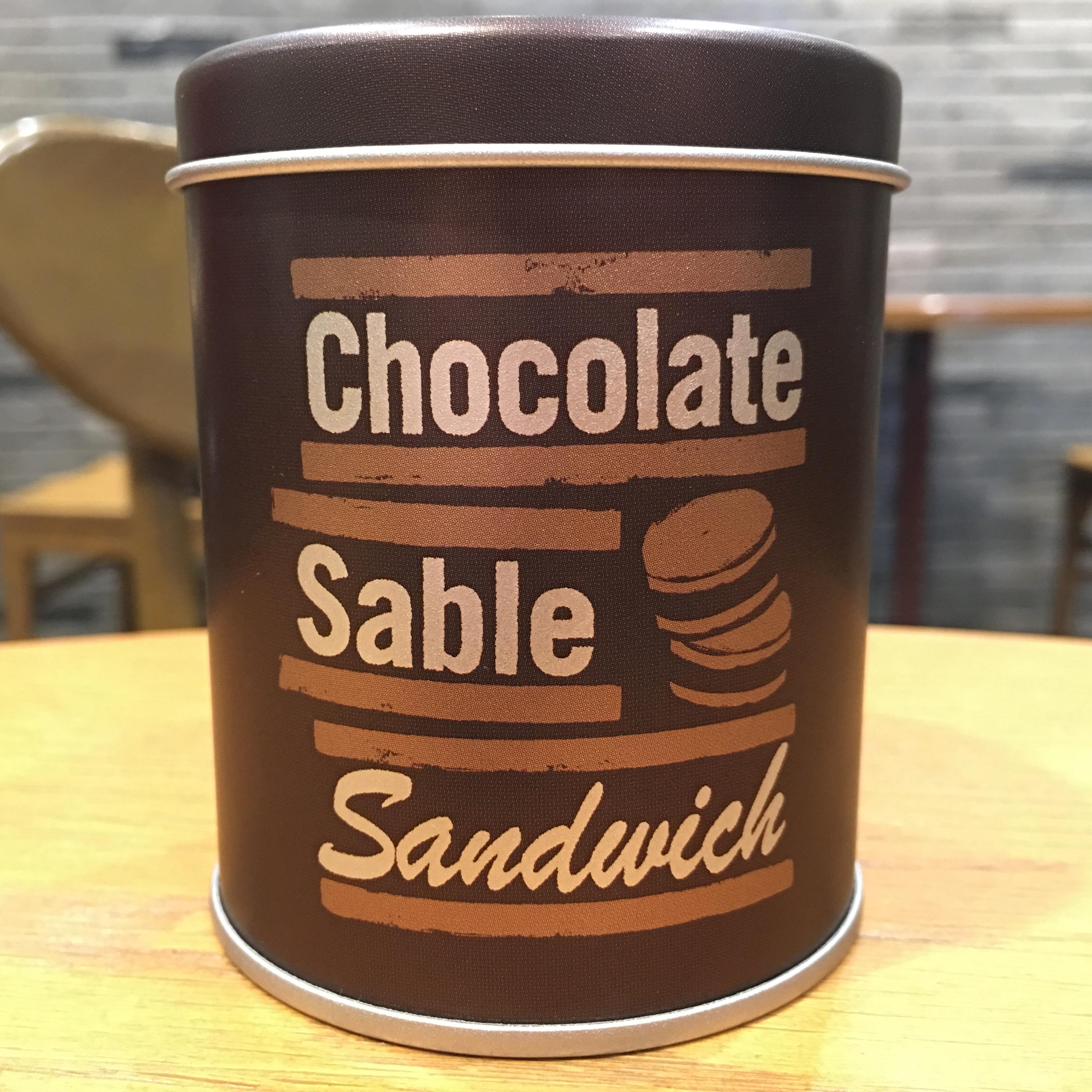 スタバ チョコレートサブレサンド